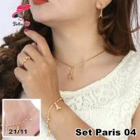 Jual Perhiasan Set Paris Lapis Emas Dewasa 04 Murah