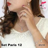 Jual Perhiasan Set Paris Lapis Emas Dewasa 12 Murah