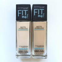 MAYBELLINE FIT ME ! MATTE PORELESS FOUNDATION BUFF BEIGE