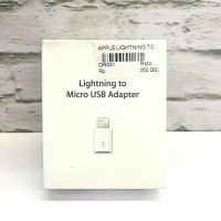 (Original) Lightning to Micro USB Adaptor MD820 - Garansi Apple