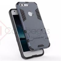 Google Pixel Hybrid Armor Case TPU casing hard soft cover bumper mewah