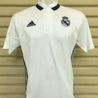 Jual Kaos Polo Shirt Real Madrid Home New - Grade Ori Murah
