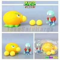 Mainan Anak Plant vs Zombie Tembak Plants Zombies Citron Shooter