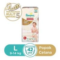 Jual Pampers Premium Care Active Baby (Pants) L 42 Murah