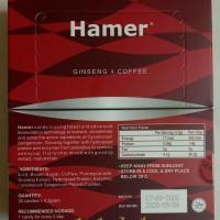 Hamer Ginseng Coffee Candy - Permen Ginseng Kopi, Per Box Isi 30pcs