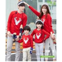 [TagAll Tokopedia] Sweater Couple Family 2 anak | Baju keluarga |