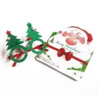 Hotlist hits kekinian KN03 kacamata natal | topi natal santa | bando