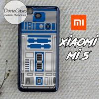 Casing Xiaomi Mi 5 Star Wars R2D2 Lego Hard Case Custom