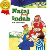 NATAL YANG INDAH - Buku Cerita Bergambar dan Mewarnai