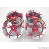 Jual PROMO 1:10 Touring / Drift Wheels 12mm Hex (4pcs) CR-MP4R (338000174) Murah
