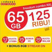 perdana internet Indosat Freedom Combo XXL