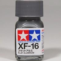 TAMIYA GUNDAM ENAMEL XF-16 WARNA FLAT ALUMINIUM