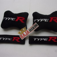 Bantal Mobil Type R 2in1 Honda Civic Brio Jazz City HRV Freed Mobilio