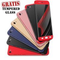 Vivo V5 Plus Full Cover Armor Baby Skin Hard Case Hitam/Merah/Biru1249