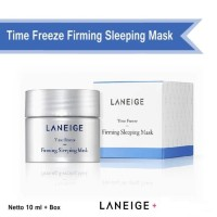 Jual READY Laneige Time Freeze Firming Sleeping Mask Trial Kit Murah