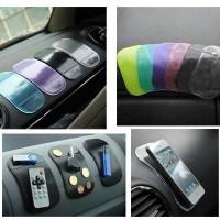 Jual SILICONE Car Anti Slip Mat Super Sticky Pad Phone HP dashboard Mobil Murah