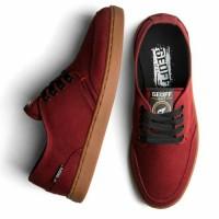 Sepatu geoff max original 100%Authentic maroon gum