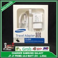 ORIGINAL 100% Charger Samsung Galaxy J7 J7 Prime 5V - 1.55A 10.6 Watt