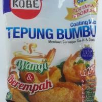 Kobe tepung bumbu kobe coating mix 75gr untuk goreng ayam tempe udang