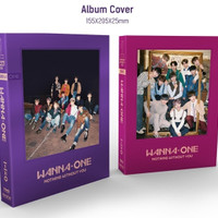 [CD Album Original] WANNA ONE - 1-1=0 (Nothing Without You) [PILIH]
