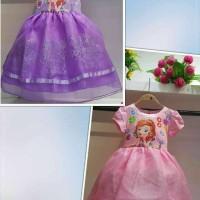 Jual Dress sofia/party dress anak/dress anak premium  Murah