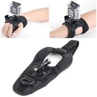 Jual Glove Style Velcro Wrist Band Strap Xiaomi Yi GoPro Hero Hero 3  2 Murah