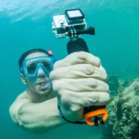 Jual Floating Monopod Action Camera GoPro XiaomiYi SJCAM kogan Pov Dive boy Murah