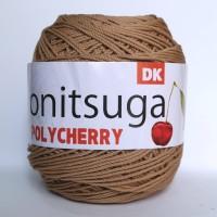 Jual Benang Rajut Polyester Onitsuga Yarn Polycherry 8022 Murah