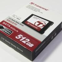 """New TRANSCEND SSD370 512GB - SSD 2.5"""" Solid State Drive 512GB"""