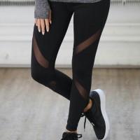 Celana Senam Forever21 Black//Active Legging Fitness F21