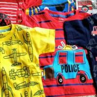 Baju Kaos anak baby victory, ORI, bahan adem motif upgrade