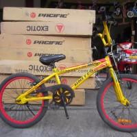 Sepeda BMX United 20 Flexx Kuning CUCI GUDANG STOCK TERBATAS