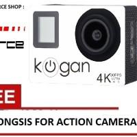 GoPro Kogan Action Kamera 4K NV UltraHD - 16MP WIFI + Free Tongsis