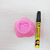 CETAKAN PUDING HELLO KITTY