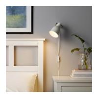 Lampu Sorot Jepit IKEA HEKTAR Lamp Dinding Baca Putih Murah dbbd448406