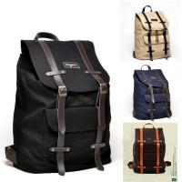 Jual Bonjour Alphonse - Tas Ransel Backpack Laptop Canvas Vintage Branded Murah