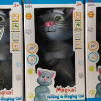 HAPPY TOYS Mainan Tom Kucing Bisa Dongeng Versi Indonesia MURAH & LARI