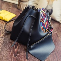 ... High Quality Pouch Bag Set Import HB747 Black