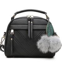 Jual  V Style Mini Hand Bag Korea Import HB770- Black  Murah