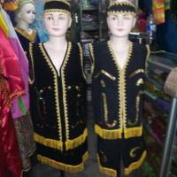 baju pakaian adat kalimantan barat dayak satin