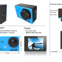 Jual Jual SJCAM SJ5000X Wifi Elite Edition Sony IMX078 Gyro Actio YN-65T Ba Murah