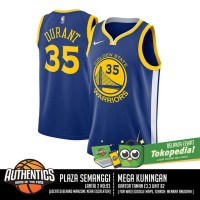 [AUTHENTIC] Golden State Warriors Kevin Durant Nike Blue Swingman