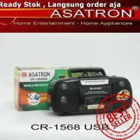 Jual MURAH ORIGINAL Radio kaset/radio/radio tape Asatron 1568 (USB MP3 MMC) Murah