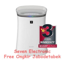 [Pembersih] Air Purifier Sharp FP-F40Y-W Putih Free Ongkir Jabodetabek