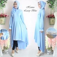 Baju Muslim Wanita Cewek Hijab Syari [St 3in1 Tunik Layer FT] setelan