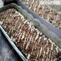 Jual Fudgy Brownies Topping Nutella - Cheese Murah