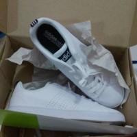 Sepatu Original Adidas Neo Advantage White Clean Navy