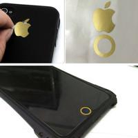 Jual Stiker logo Apple iPhone 6 s 7 8 home button sticker keren berkualitas Murah