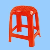 Jual Kursi Baso Plastik Anyaman Napolly 303 warna Merah Murah