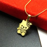 Jual (Sale) Kalung Liontin Titanium Anak Hello Kitty HK2014 Murah